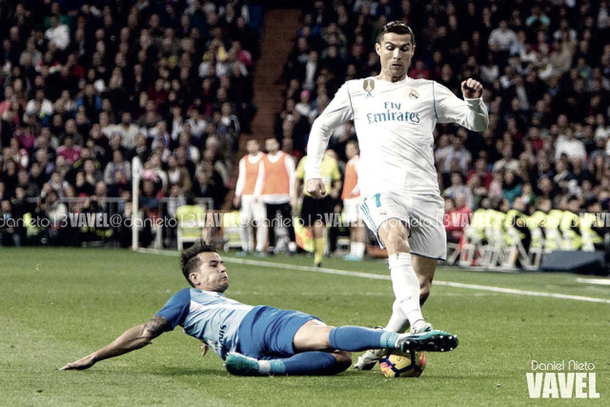 Resumen Málaga 1-2 Real Madrid en La Liga 2018