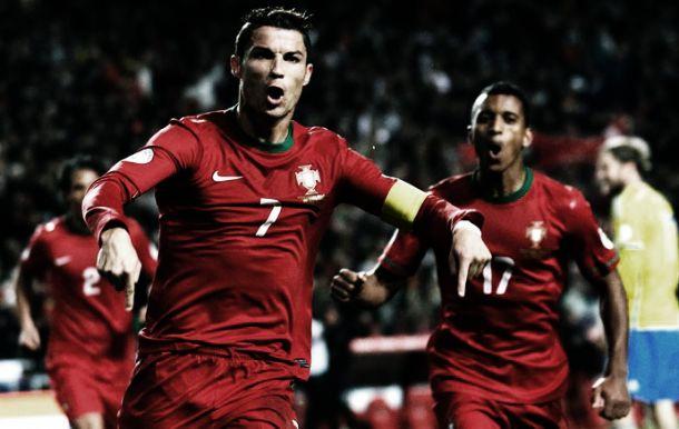 Monstruoso Ronaldo coloca a caravela portuguesa a caminho do Brasil
