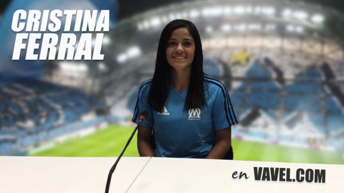 Entrevista. Cristina Ferral y su llegada al Olympique de Marsella