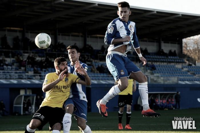 Espanyol B y Lleida empatan contra viento y marea