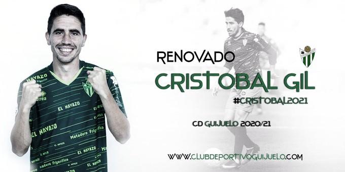 Cristobal Gil renueva por el CD Guijuelo