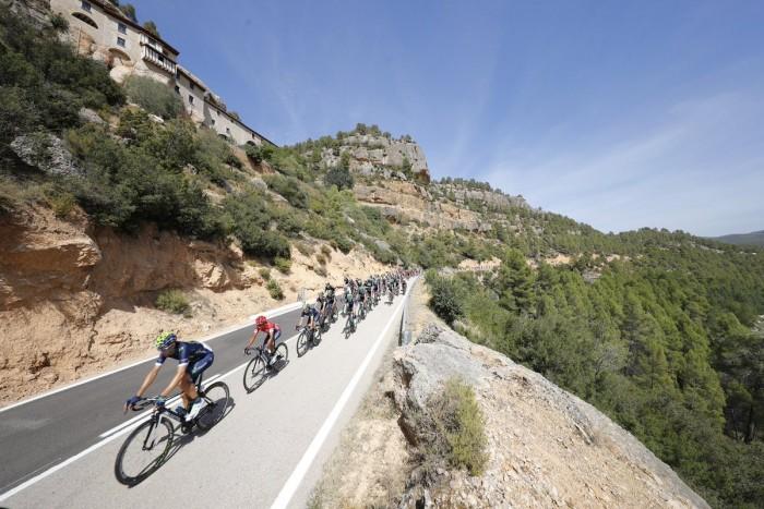 Vuelta 2016, 17° tappa: Castellón - Llucena.Camins del Penyagolosa, il muro finale fa paura