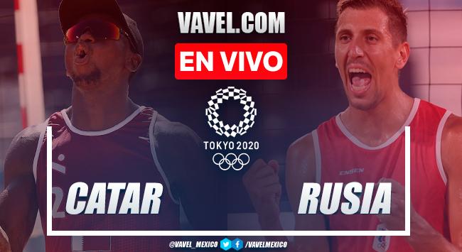 Resumen: Catar 0-2 Rusia en Semifinales Voleibol de Playa Masculino por Juegos Olímpicos 2020