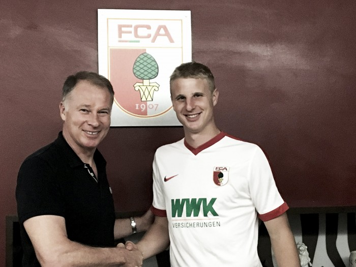 Augsburg sign defender Hinteregger on deadline day