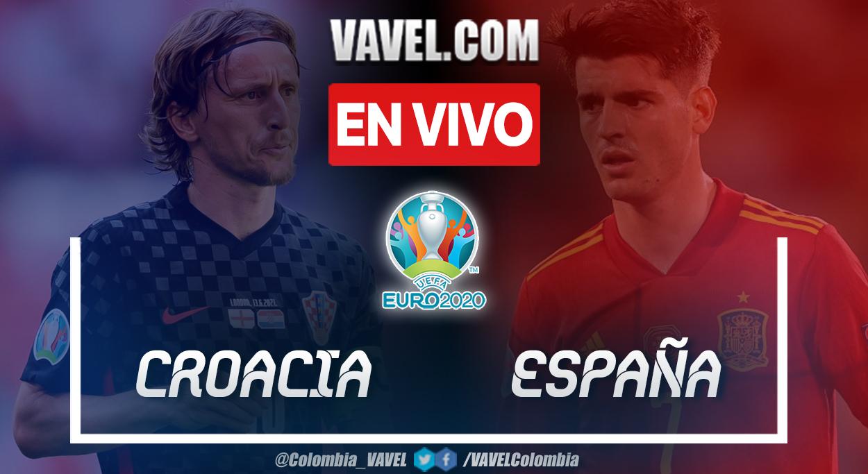 Resumen y goles: Croacia 3-5 España en octavos de final de la UEFA Euro 2020