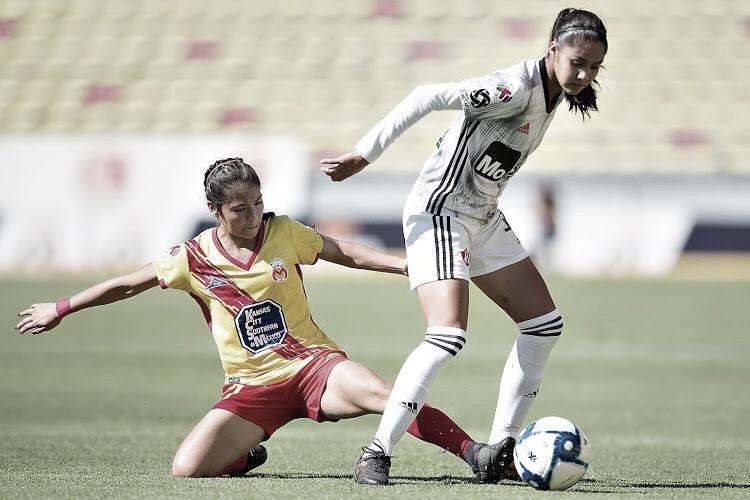 Canarias y Rojinegras reparten unidades en el Estadio Morelos