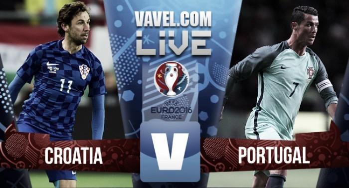 Euro 2016 - Risultato Croazia - Portogallo (0-1), decide Quaresma