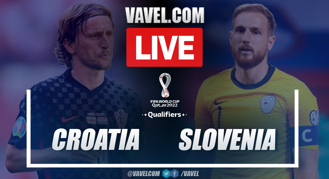 Goals and highlights: Croatia 3-0 Slovenia in FIFA World Cup Qualifiers 2022