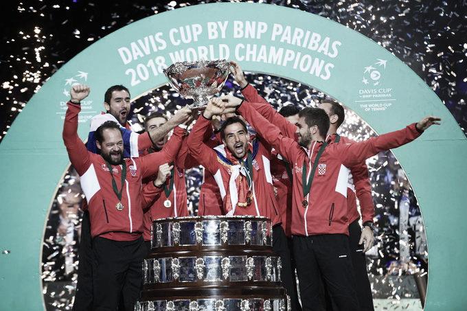 España se medirá a Croacia y Rusia en la fase final de la Copa Davis 2019