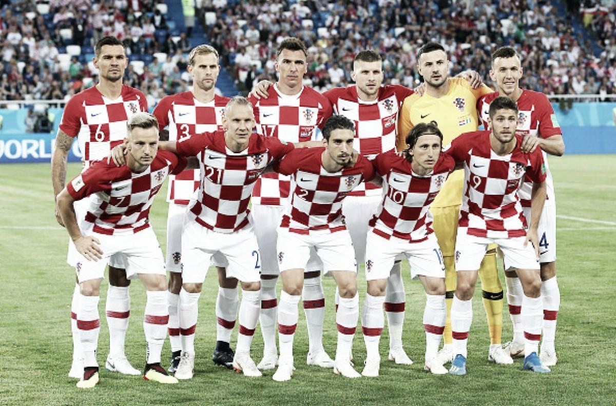 11 contra 11: Croácia leva vantagem no comparativo entre titulares contra Rússia