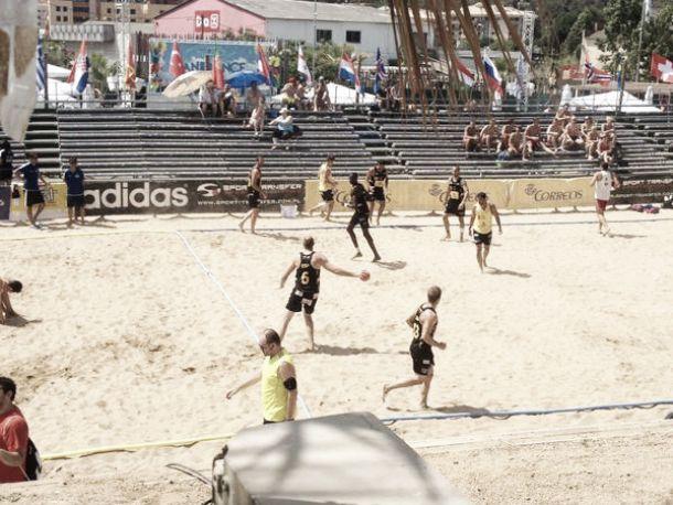 Croacia acaba con la imbatibilidad de los 'Hispanos de la arena'