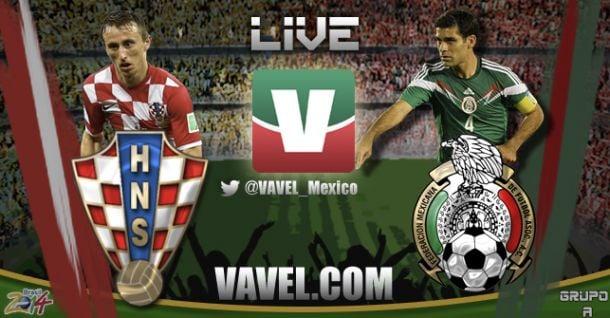 Resultado México - Croacia en Mundial 2014 (3-1)
