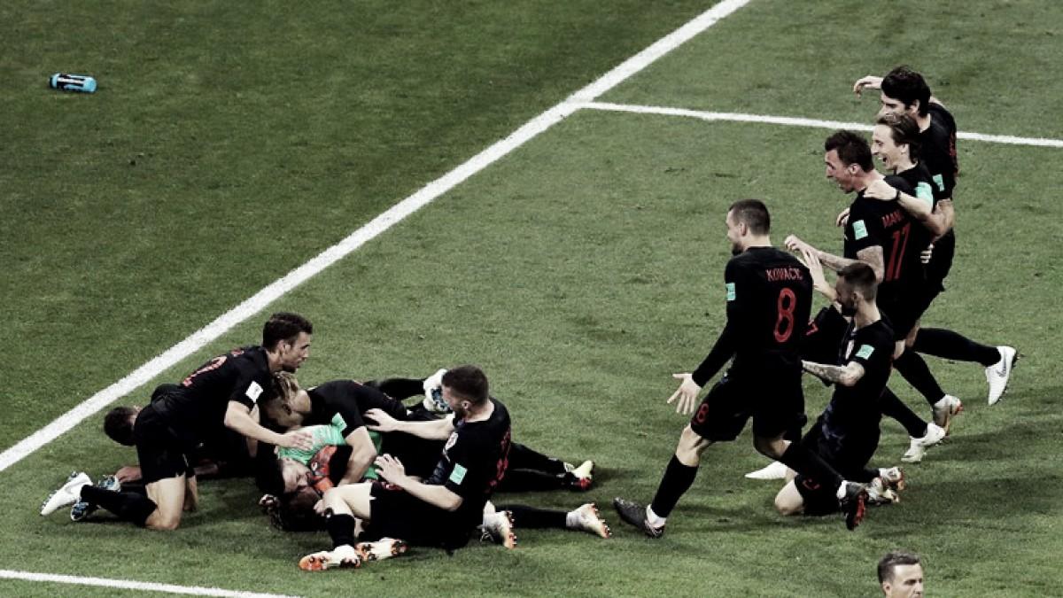 En un partido lleno de emociones, Croacia dejó afuera a Rusia y avanzó a semifinales