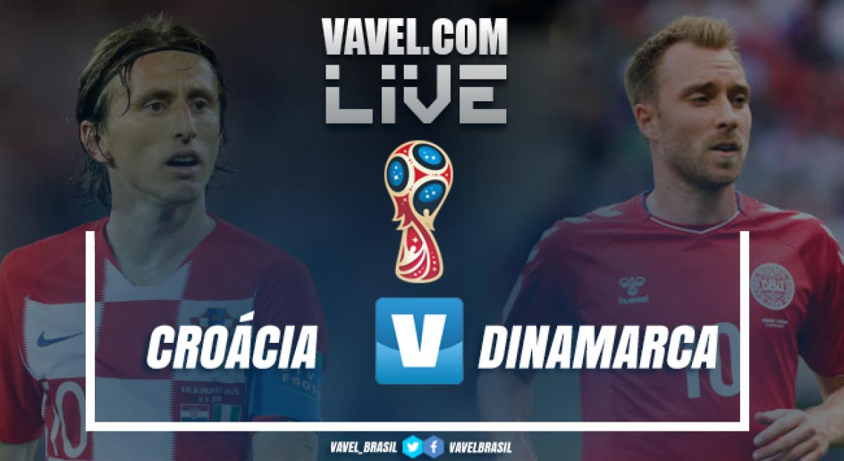 360b5c12d2 Resultado Croácia x Dinamarca na Copa do Mundo 2018 (1-1 3-2 ...