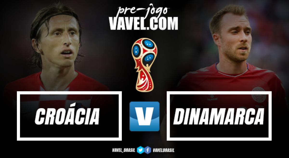Embalada, Croácia enfrenta defensiva Dinamarca em busca de vaga nas quartas do Mundial