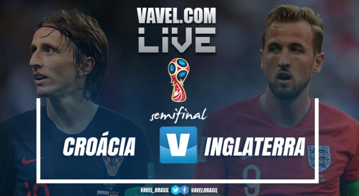 Resultado Croácia 2x1 Inglaterra na Copa do Mundo 2018