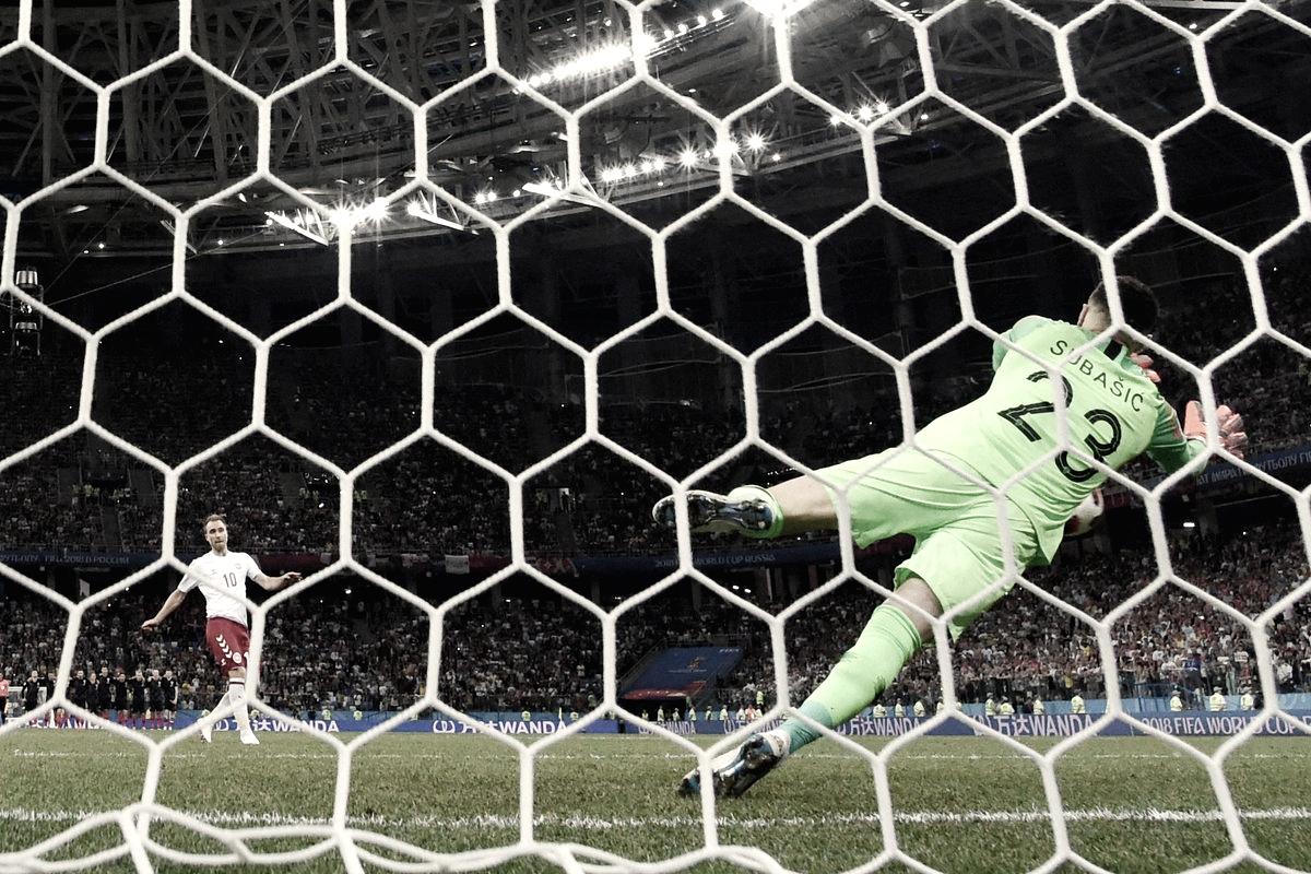 Análise: contra Dinamarca, Subasic brilha nos pênaltis e salva Modric, que teve atuação apagada