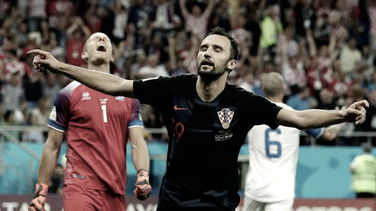 Croacia califica y acaba con los vikingos