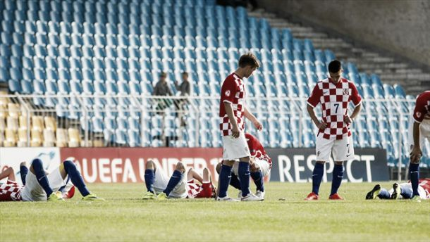 Croatia under-17 1-1 Belgium under-17 (3-5 on penalties): Azzazoui bright as Croats defeated on pens