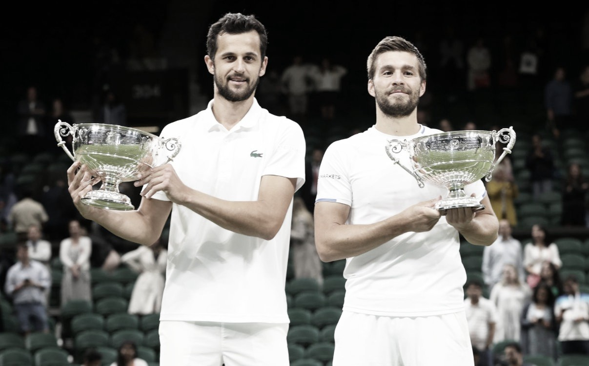 Melhor dupla do ano, Mektic/Pavic batem Granollers/Zeballos e são campeões de Wimbledon