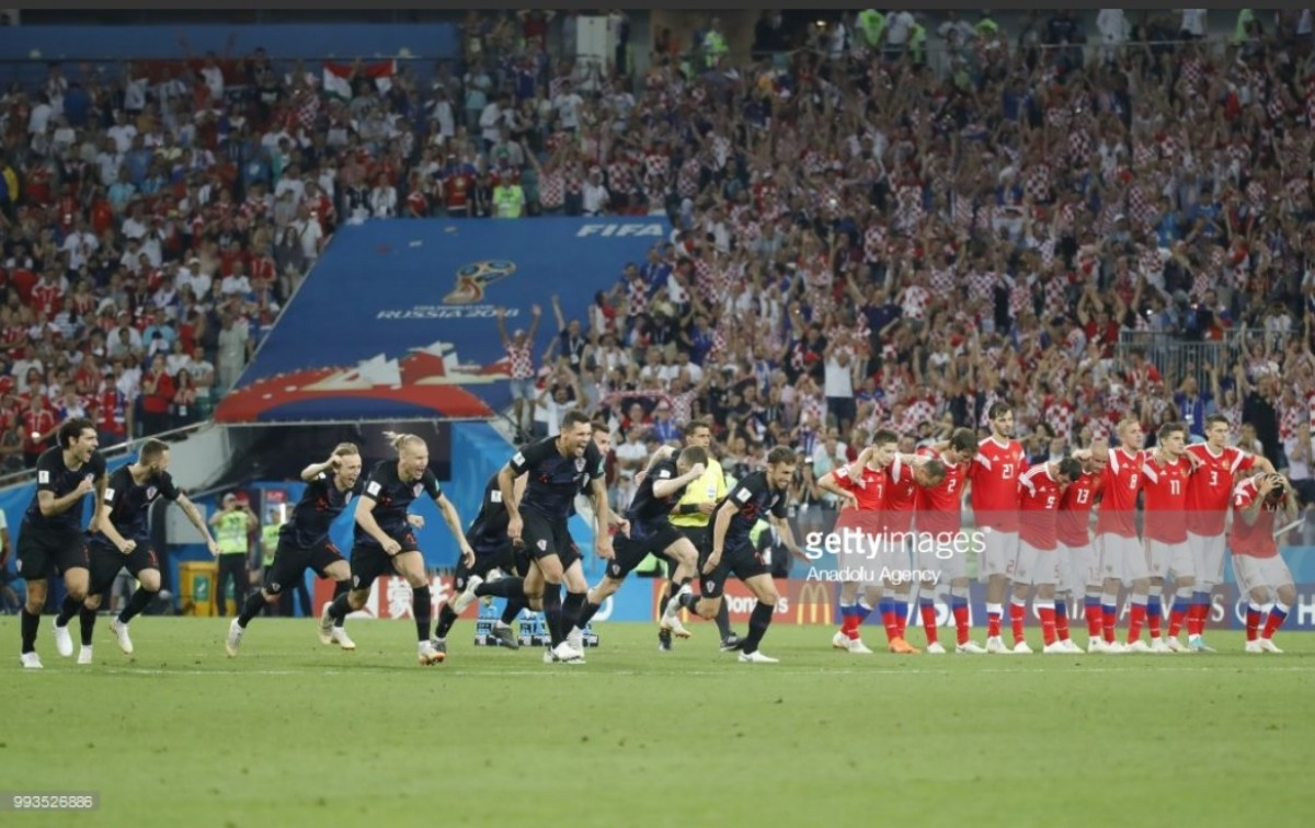 Russia (3) 2-2 (4) Croatia: Hosts edged out on penalties as Croatia set up England clash