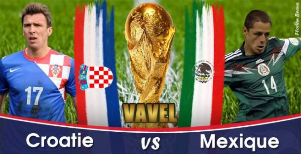 Live Croatie - Mexique en direct