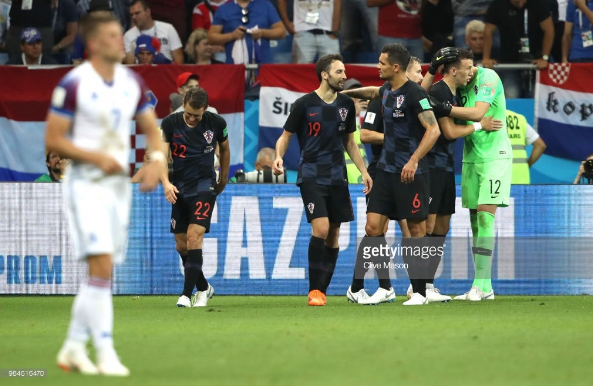 Iceland 1-2 Croatia: Perisic secures perfect record for Croatia as Iceland are dumped out of the World Cup