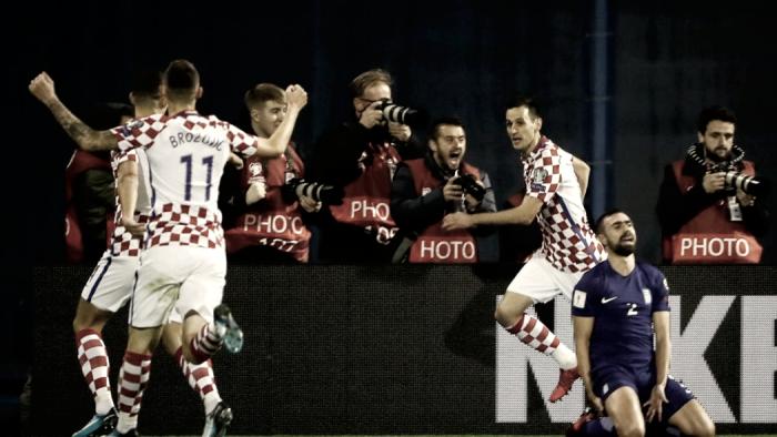 Playoff Mondiali 2018, Grecia-Croazia senza reti: Perisic e Mandzukic in Russia