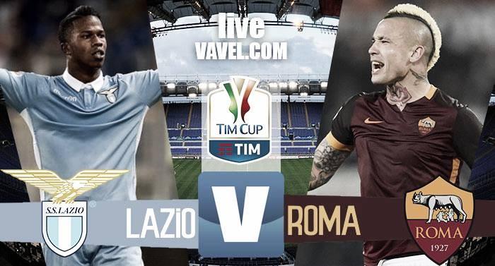 Terminata Lazio - Roma in Coppa Italia 2016/17 (2-0): Decidono Milinkovic ed Immobile!