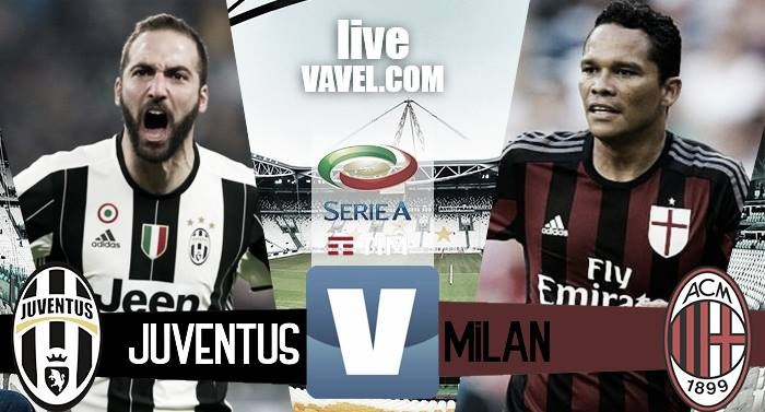 Terminata Juventus - Milan in Serie A 2016/17 (2-1): La decide Dybala su rigore al 97esimo!