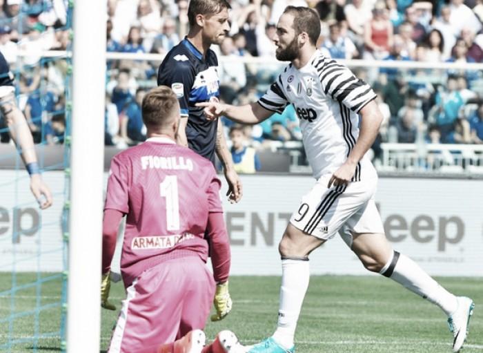 Juve, le pagelle del match col Pescara: bene Asamoah, Higuain realizzatore