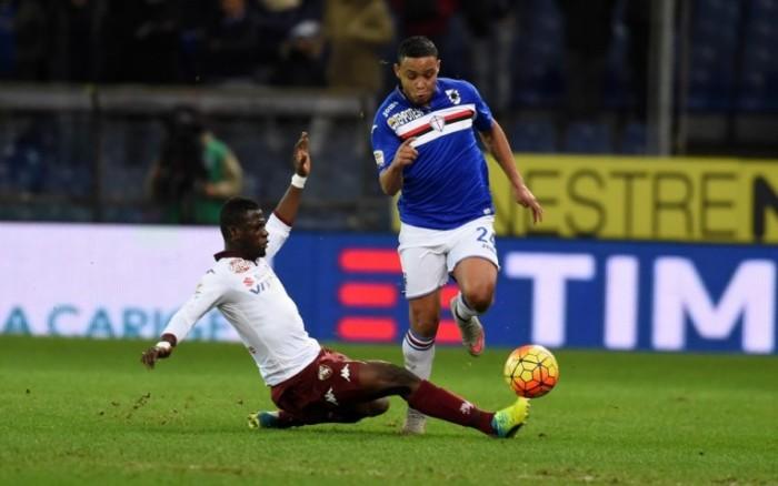 Sampdoria - Torino terminata in Serie A 2016/17 (2-0): Barreto e Schick!