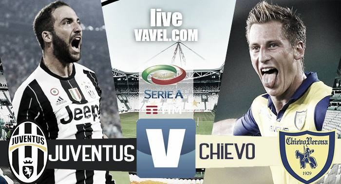 Terminata Juventus - Chievo in Serie A 2016/17 (2-0): Doppio Higuain, gran partita di Dybala