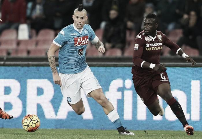 Napoli - Torino terminata in Serie A 2016/17 (5-3): Mertens infermabile, ne fa 4!