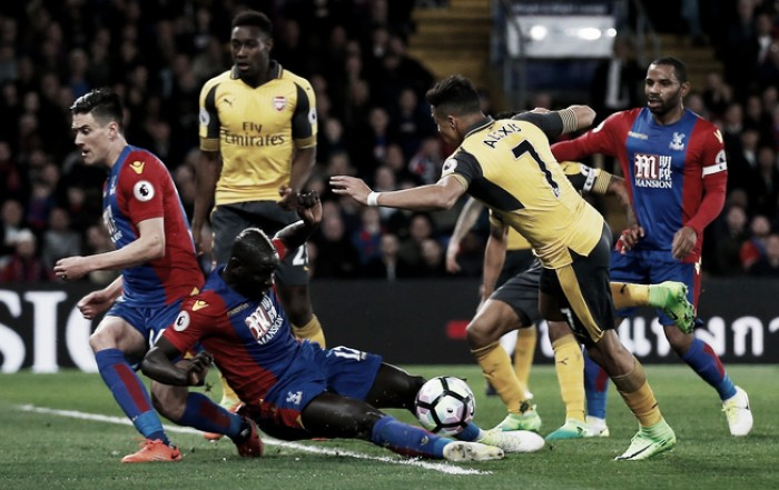 Premier League - Crystal Palace show, l'Arsenal tracolla: Townsend, Cabaye e Milivojevic firmano il 3-0