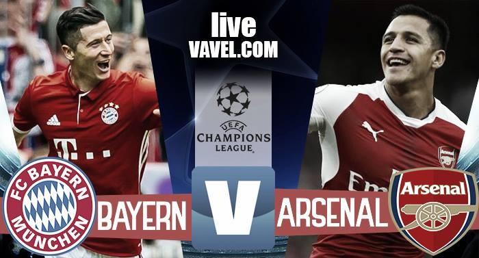 Terminata Bayern Monaco - Arsenal in Champions League 2016/17 (5-1): Muller chiude lo show