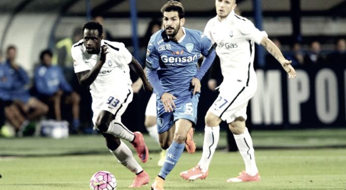 Atalanta - Empoli terminata in Serie A 2016/17 (2-1): Mchelidze-Kessié, decide D'Alessandro