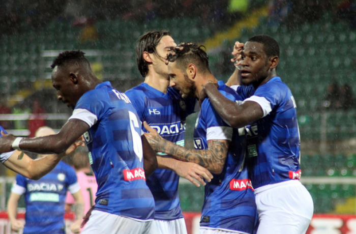 La decide Fofana a Palermo: l'Udinese passa 1-3 nel finale
