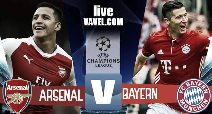 Terminata Arsenal - Bayern Monaco in Champions League 2016/17 (1-5): Vidal x2, manita!