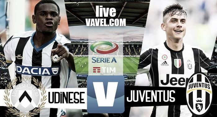 Terminata Udinese - Juventus in Serie A 2016/17 (1-1): La sblocca Duvan Zapata, pari di Bonucci!