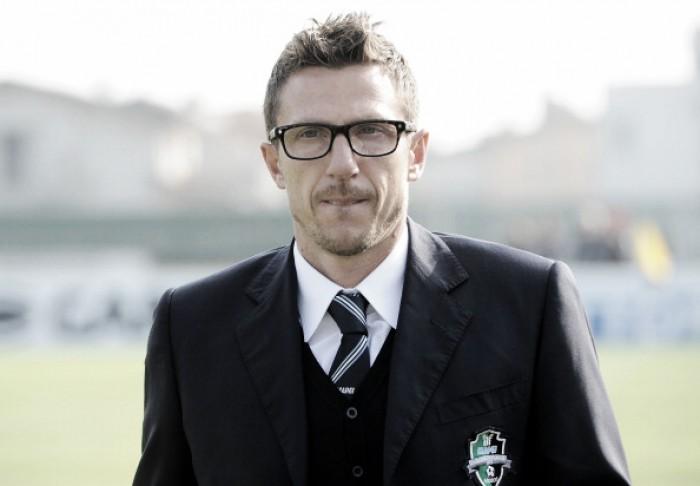 """Sassuolo - Di Francesco prima del Pescara: """"Il mio cuore è biancazzurro, ma voglio vincere"""""""