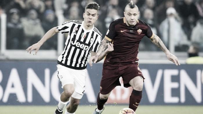 Juventus - Roma terminata in Serie A 2016/17 (1-0): Decide Higuain!