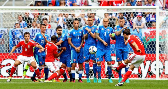 EuroVAVEL - Gruppo B, Bale e Robson-Kanu portano il Galles nella storia, cade la Slovacchia