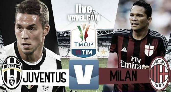 Risultato Juventus 2-1 Milan in Coppa Italia 2016/17: Decisivi Dybala e Pjanic, inutile Bacca