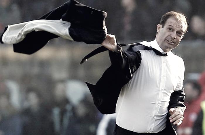 Le 5 giacche mai lanciate da Max Allegri: i momenti horror della Juventus del 2016