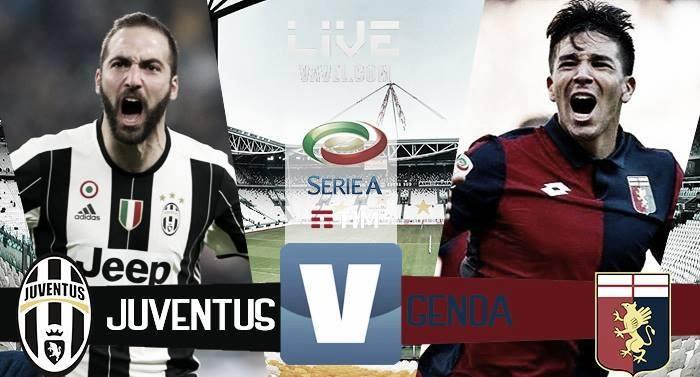 Terminata Juventus - Genoa in Serie A 2016/17 (4-0): Munoz (AG), Dybala, Mandzukic e Bonucci!