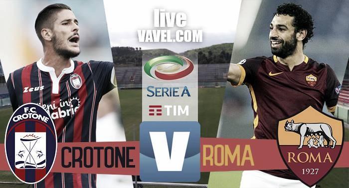 Risultato Crotone - Roma in Serie A 2016/17 (0-2): Decidono Nainggolan e Dzeko