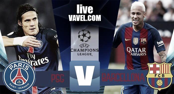 Terminata Paris Saint-Germain - Barcellona in Champions League 2016/17 (4-0): Show del PSG