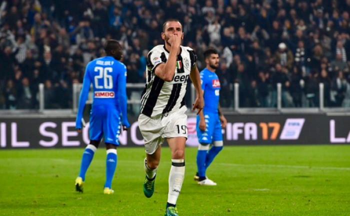 La Juve trionfa sul Napoli: le parole di Bonucci ed Allegri nel post-gara