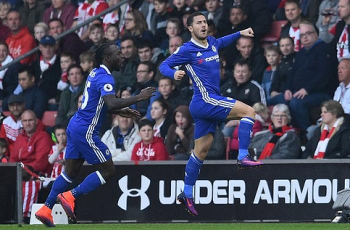 Hazard-show a Southampton: il Chelsea vince 0-2